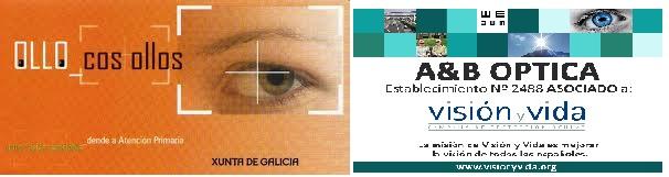 logos AyB Optica