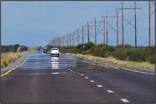 Espejismo-carretera